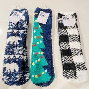Old Navy Christmas cozy socks